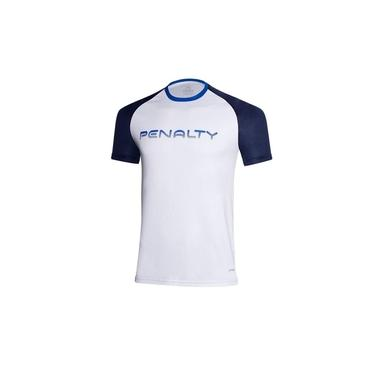 Camiseta Penalty Gradiente X Branco/Marinho Masculino