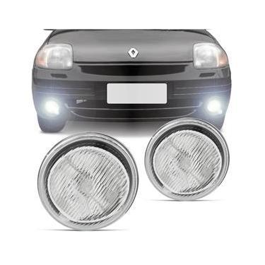 Farol de Milha Renault Clio Kangoo Twingo 2000 2001 2002 Auxiliar Neblina Lado Esquerdo Motorista