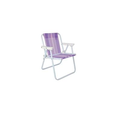 Cadeira de Praia Infantil Lilás Mor