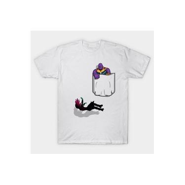 Camiseta Camisa Thanos Filha Caindo Marvel Feminina