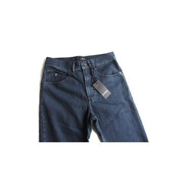 Calça Jeans Pierre Cardin Masculina Tradicional 100% Algodao Grafite