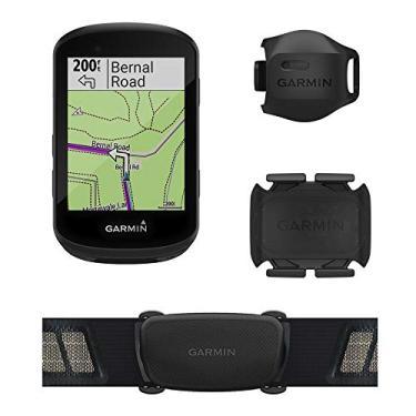 Imagem de Ciclocomputador GPS Garmin Edge 530 Bundle com Mapeamento de Informações, Monitor Cardíaco, Sensor de Velocidade e Cadência