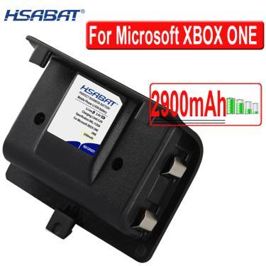 Bateria para controle wireless de xbox one, 2900mah para microsoft xbox one, carregador de joypad,