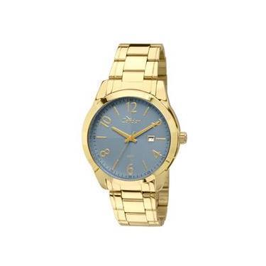 38d3fd90dcc Relógio Feminino Analógico Condor Fashion CO2115VK 4A- Dourado