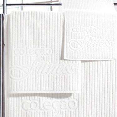 Toalha Esportiva Fitness (25x86cm)  Branca