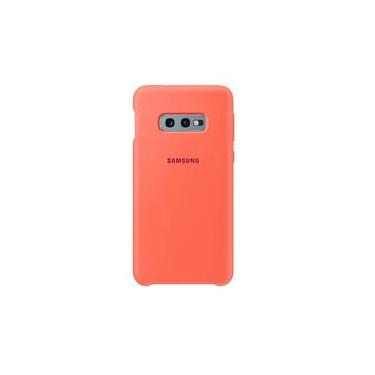 Capa Protetora De Silicone Rosa Original Samsung Galaxy S10e