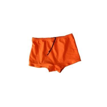 Sunga boxer laranja neon P ao GG
