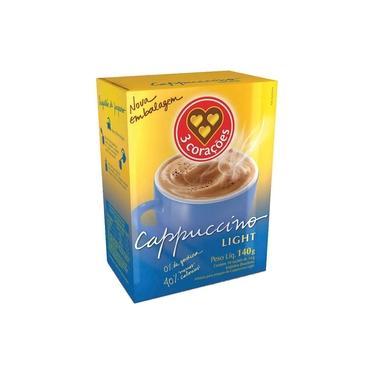 Kit 2 Cappuccinos Light 3 Corações 140G
