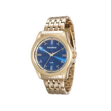 5c0c09a457a Relógio Feminino Analógico Mondaine 76598LPMVDE1 – Dourado