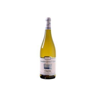 Vinho Domaine Grand Roche Chablis Branco 750ml