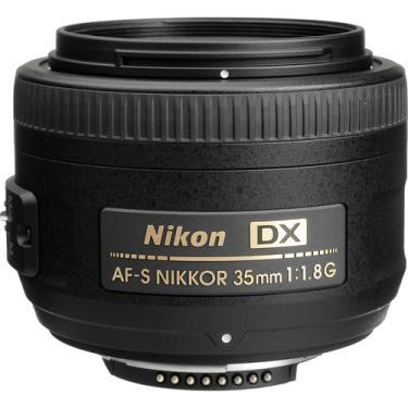 Lente Nikon 35mm F/1.8 G Af-s Dx Nikkor
