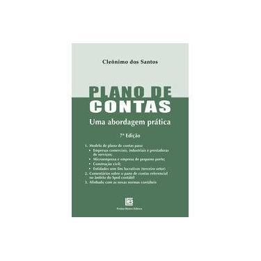 Plano De Contas - Uma Abordagem Prática - Cleônimo Dos Santos - 9788579873102