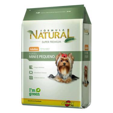Ração Fórmula Natural Super Premium para Cães Adultos Raças Mini e Pequena - 7 Kg
