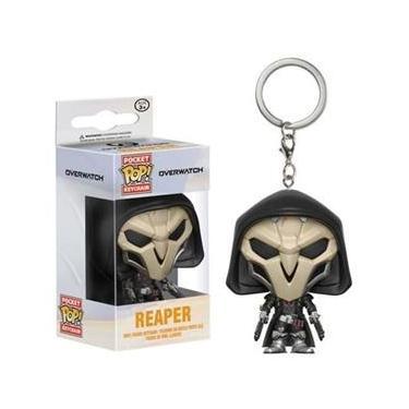 Overwatch Chaveiro Keychain Mini Boneco Pop Funko Reaper