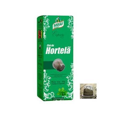 Chá Hortelã Cápsula Barão Expresso 10 cápsulas 22g