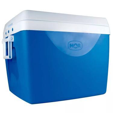 Caixa Térmica 75 Litros Azul Mor 1026205