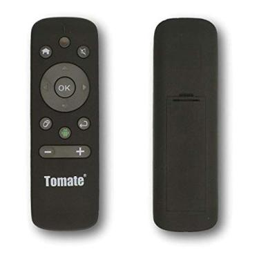 Controle Wireless Air Mouse MCT-103 Tomate Giroscópio Para Computador Smart Tv Android