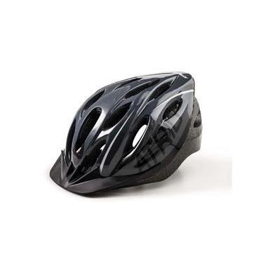Capacete para Ciclismo Bike Átrio Mtb 2.0 com LED e Viseira Tamanho G Preto - BI171
