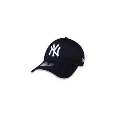 Bone 940 New York Yankees Mlb Aba Curva Snapback Marinho New Era