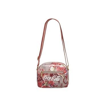 Bolsa Flores Transversal Coca-Cola Original 7118823