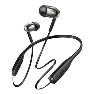 Fone de Ouvido Sem Fio Philips MetalixPro SHB5950WT com Bluetooth/Microfone - Preto