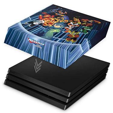 Capa Anti Poeira para PS4 Pro - Megaman Legacy Collection
