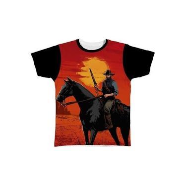 Camiseta Camisa Red Dead Redemption 2 Jogo Game 10