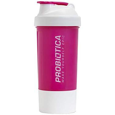 Coqueteleira Probiótica - 2 Doses Cor: Rosa