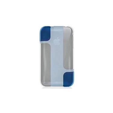 Capa para iPhone 3G - Belkin Hue - Acrilico Branco/Azul - F8Z455-047