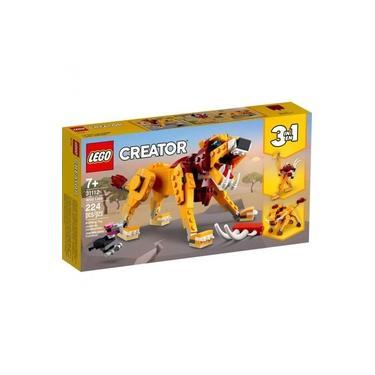 Imagem de LEGO Creator 3 em 1 - Leao Selvagem - 31112 - 224 Pecas