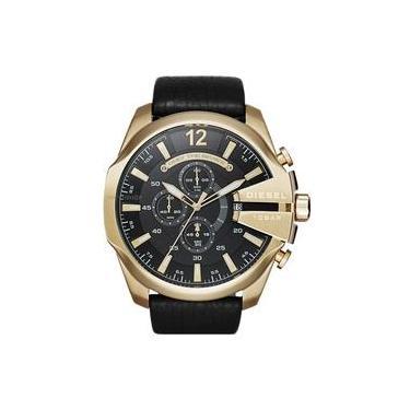 98cf423fb08 Relógio Masculino Diesel DZ4344 0PN 52mm Couro