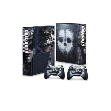 Skin Adesivo para Xbox 360 Super Slim - Call Of Duty Ghosts