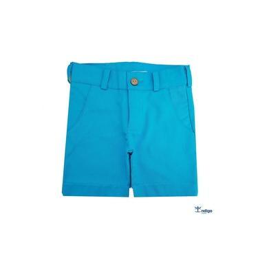 Bermuda Esporte Fino Azul Turquesa Índigo Trend