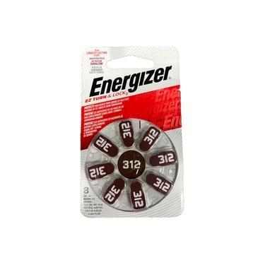 Bateria Energizer Pilha Audiologica AZ 312 Turn e Lock 38742
