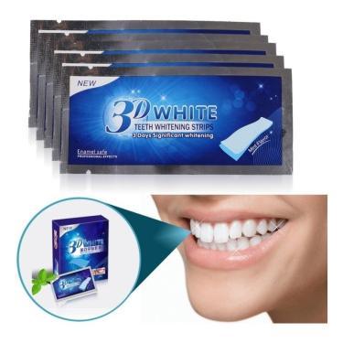 Imagem de Branqueador Ultra Clareador Dental 28 Fitas 3d White