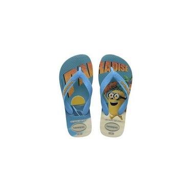 Havaianas Kids Minions Amarelo Citrico/Branco 3455 23/4