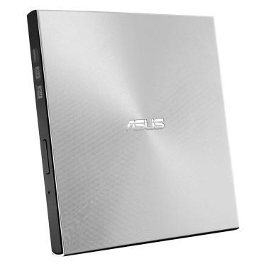 Gravador DVD Externo Asus Ultra Slim ZenDrive U9M - Portátil - Conexão por USB e USB-C - Prata - SDR