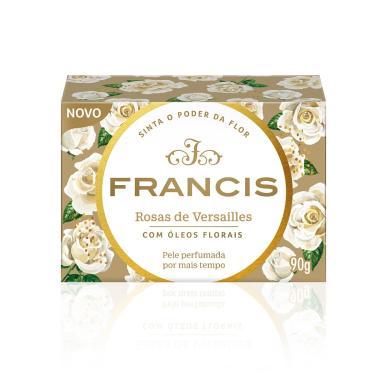 Sabonete em Barra Francis Clássico Rosas de Versailles 90g