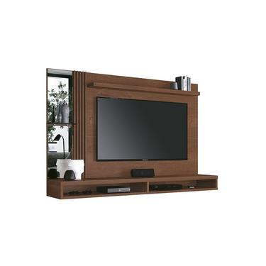 Painel Home Paris Para Tv Até 55 Polegadas Ripado Com Espelho