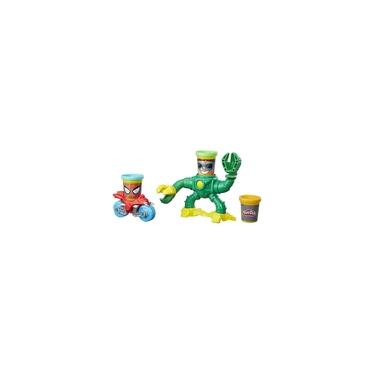 Imagem de Massinha Play-Doh Marvel Spiderman vs Dr Octopus - B9364 Hasbro