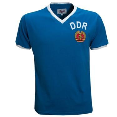 Camisa Liga Retrô DDR 1974 (Alemanha Oriental) - Masculino 27b5fd96f39a7