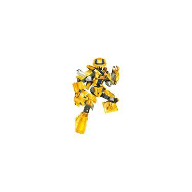 Imagem de Blocos De Montar Robo Guerreiro Yellow Armor -57 Peças