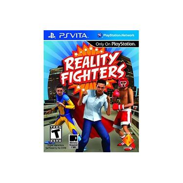 Game Reality Fighters Versão Europeia - PSVita