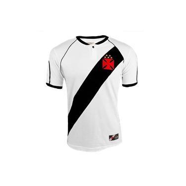 Camisa Vasco da Gama Retrô Masculina - Branca