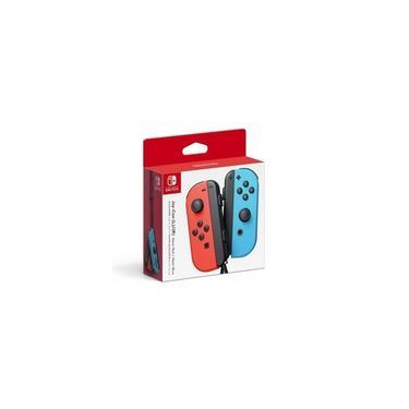 Controle (Original) Joystick Nintendo Switch Joy-Con vermelho-néon/azul-néon