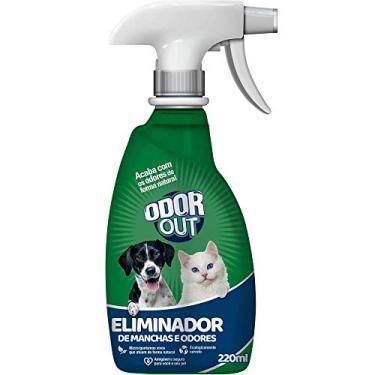 Spray - Eliminador de Odores e Manchas, ODOR OUT, 220 ml, Verde