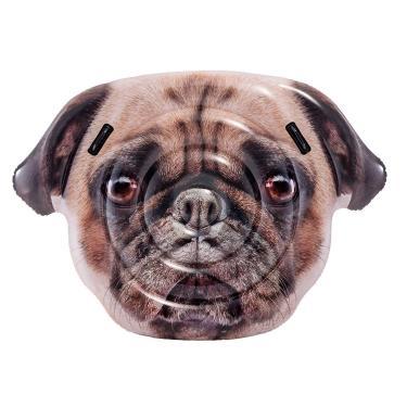 Colchão Inflável Para Piscinas Cachorro Pug Intex