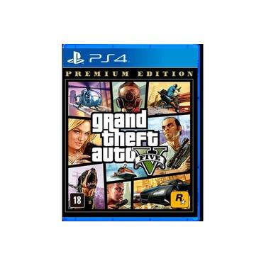 GTA V (Premium Edition) - PS4 Mídia Física