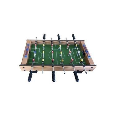 Imagem de Mini Mesa De Pebolim Grande Pimbolim Toto Futebol Completa