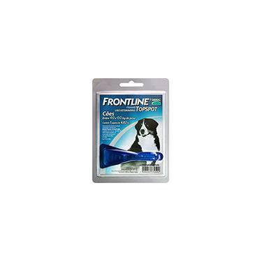 Medicamento Antipulgas e Carrapatos p/ cães 40kg a 60kg - Frontline Top